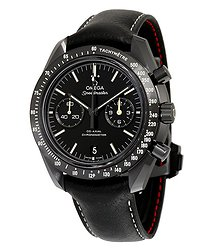 Omega Speedmaster Moonwatch Pitch Black DARK SIDE OF THE MOON Chronograph Automatic Men's Watch