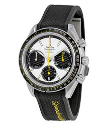Omega Speedmaster Racing Automatic Chronograph White Dial Men's Watch 32632405004001