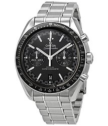 Omega Speedmaster Racing Master Chronograph Automatic Chronometer Black Dial Men's Watch