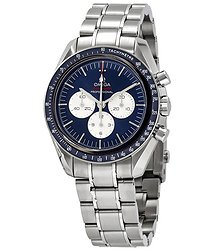 Omega Speedmaster Tokoyo Olympics Chronograph Automatic Blue Dial Men's Watch
