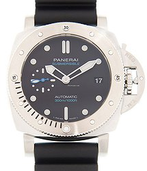 Panerai Diving Stainless Steel Black Automatic PAM00973