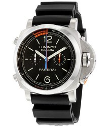 Panerai Luminor 1950 3 Day Chrono Flyback Regatta Black Dial Men's Watch