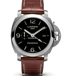 Panerai LUMINOR 1950 3 DAYS GMT PAM00320 pam320 unworn