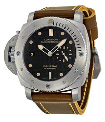 Panerai Luminor 1950 Black Dial Titanium Automatic Men's Watch