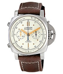 Panerai Luminor 1950 Ivory Automatic Men's Chronograph Watch