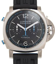 Panerai Luminor 1950 PCYC Chrono Flyback Automatic Black Dial Men's Watch