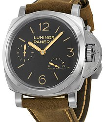Panerai Luminor 1950 Power Reserve Black Dial Men's Watch