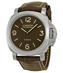 Panerai Luminor Base 8 Days Titanio Mechanical Men's Watch