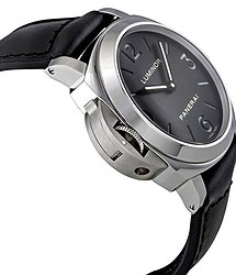 Panerai Luminor Base Black Dial Mechanical Men's Watch