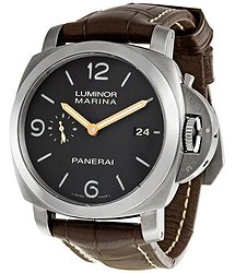 Panerai Luminor Dark Brown Dial Titanium Men's Watch 00351