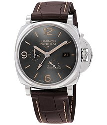 Panerai Luminor Due GMT Anthracite Dial Automtic Men's Watch