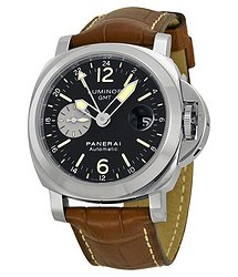 Panerai Luminor GMT Black Dial Automatic GMT Men's Watch