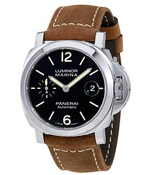 Panerai Luminor Marina Automatic Black Dial Men's Watch