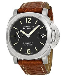 Panerai Luminor Marina Black Dial Automatic Men's Watch