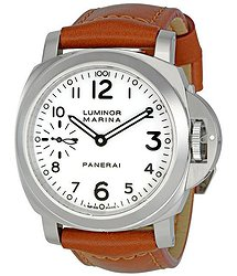 Panerai Luminor Marina White Dial Men's Watch