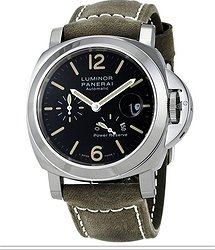 Panerai Luminor Power Reserve Automatic 44mm Black Dial Men's Watch