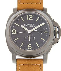 Panerai Luminor Power Reserve PVD Automatic Black Dial Men's Watch