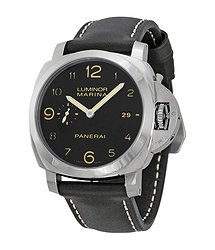 Panerai Luminora Marina 1950 Automatic Black Dial Men's Watch