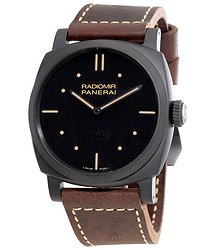 Panerai Radiomir 1940 3 Days Ceramica Black Dial Men's Watch