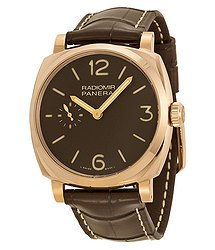 Panerai Radiomir 1940 Brown Dial Brown Leather Men's Watch