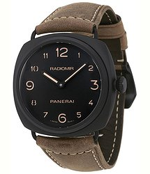 Panerai Radiomir Black Dial Men's Hand Wound Watch