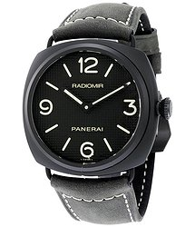 Panerai Radiomir Ceramica Black Dial Matte Ceramic Men's Watch