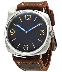 Panerai Radiomir Hand Wind Black Dial Men's Watch