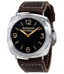 Panerai Radiomir Hand Wound Black Dial Limited Editon Men's Watch