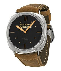 Panerai Radiomir SLC 3 Days Mechanical Black Dial Men's Watch