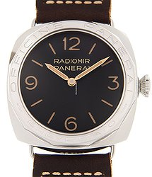 Panerai Radiomir Stainless Steel Black Manual Wind PAM00685