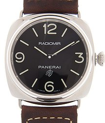 Panerai Radiomir Stainless Steel Black Manual Wind PAM00753