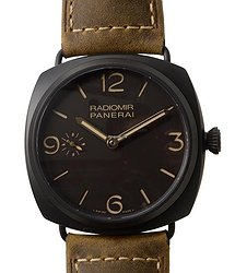 Panerai Radiomir Titanium Dark Brown Manual Wind PAM00504