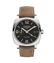 Panerai Radomir 1940 3 Days GMT Automatic Acciaio 45mm Man's Watch, PAM00657