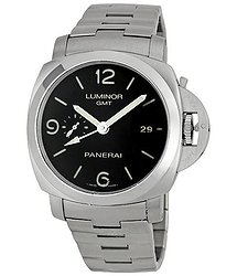 Panerai Steel Luminor 1950 GMT Watch