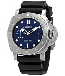 Panerai Submersible BMG-TECH Automatic Blue Dial Men's Watch