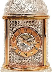 Patek Philippe 33 Table Clock Pink Gold/crystal