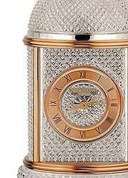 Patek Philippe 33Table Clock Pink Gold/crystal