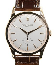 Patek Philippe Calatrava 18kt Rose Gold White Manual Wind 5196R-001
