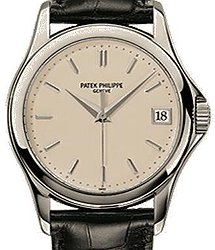 Patek Philippe Calatrava White Gold - Men Calatrava