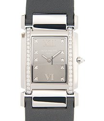 Patek Philippe Twenty-4 18kt White Gold Gray Quartz 4920G-001