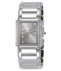 "Patek Philippe Twenty~4 ""Eternal Gray"" Dial Ladies Watch"