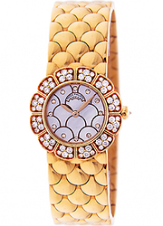 Patek Philippe Yellow Gold Ladies Watch With Diamonds 4872