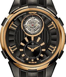 Perrelet Turbine  Limited Edition Tourbillon Black Gold