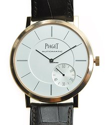 Piaget Altiplano 18kt Rose Gold Silver Automatic G0A35131