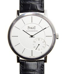 Piaget Altiplano 18kt White Gold Silver Automatic G0A35130