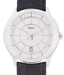 Piaget Black Tie 18kt White Gold Silver Automatic G0A38110
