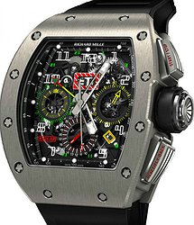 Richard Mille Men's Collection RM 11-02 TI GMT