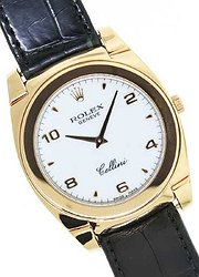 Rolex Cellini Cestello 18k Rose Gold 5330/5