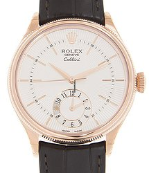 Rolex Cellini Series 18kt Rose Gold White Automatic 50525WT