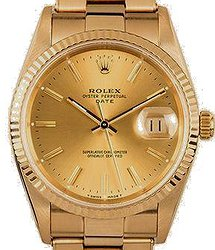 Rolex Datejust 15238 Yellow Gold